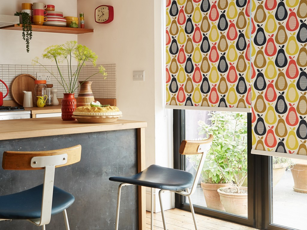 Orla Kiely Blinds Kitchen Blinds at Village Blinds Ballymena