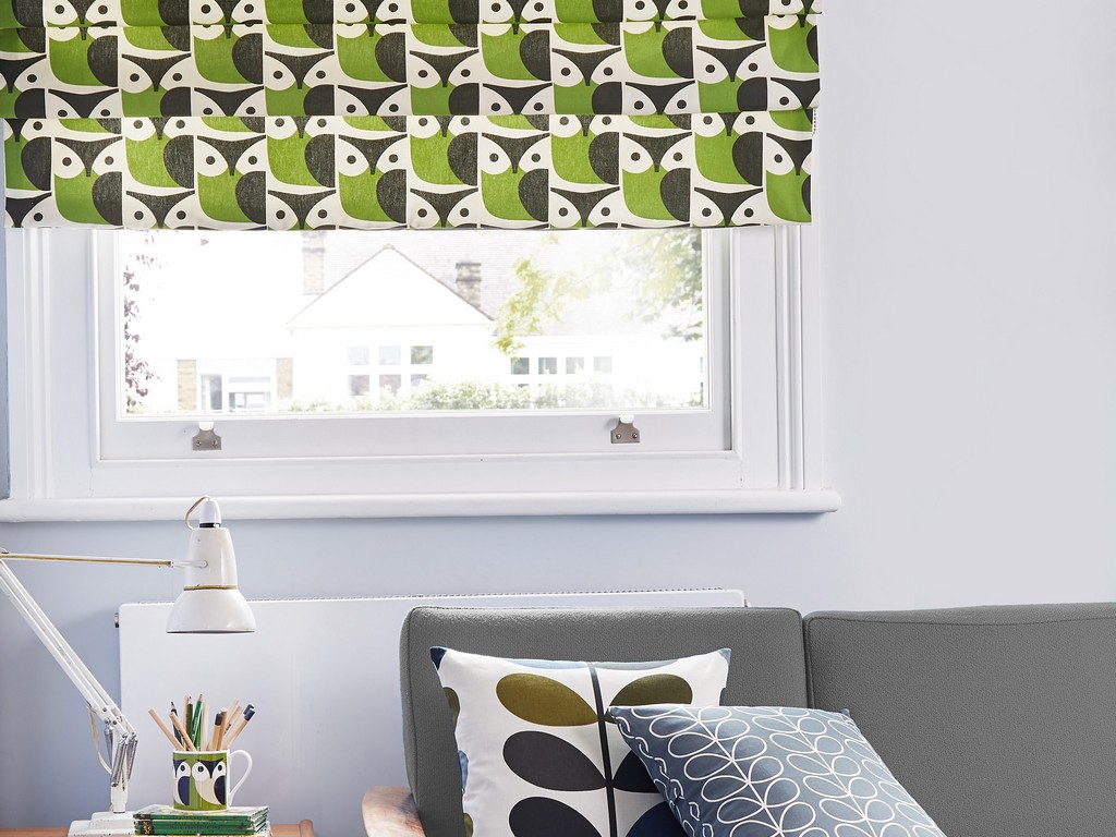 Orla Kiely Blinds Owl Blinds at Village Blinds Ballymena